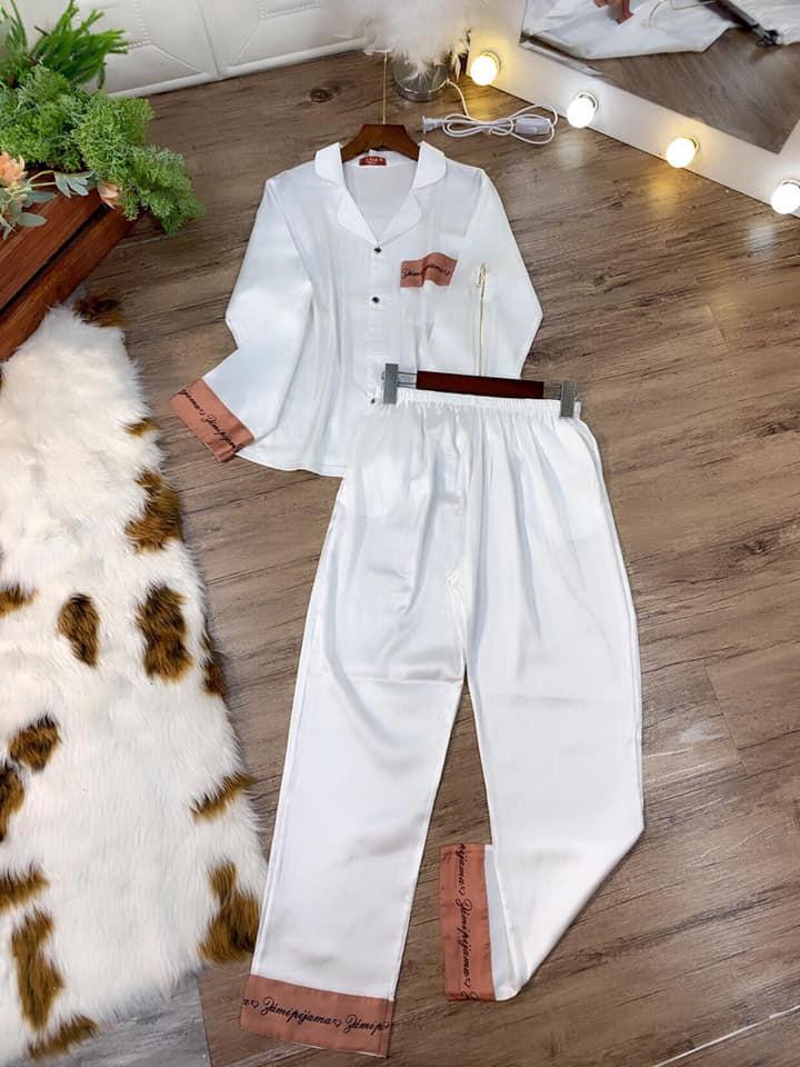 Set Pijama TDTQ trơn in chữ