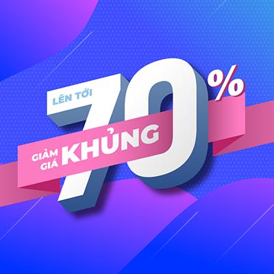Giá rẻ hơn thị trường 70%